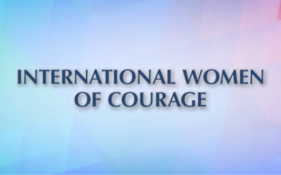 International Women of Courage Award 2019
