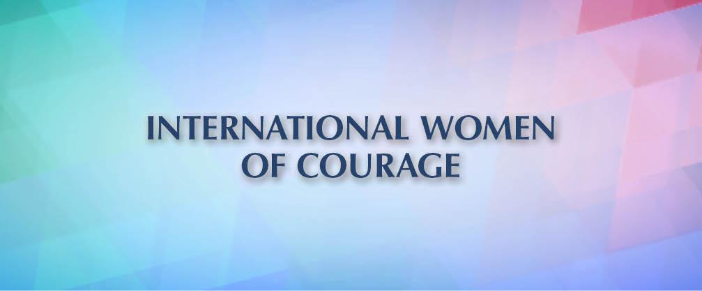 International Women of Courage Award 2019