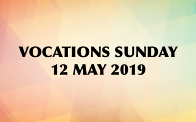 Vocations Sunday 12 May 2019