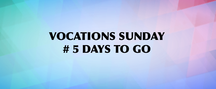 Vocations Sunday Countdown