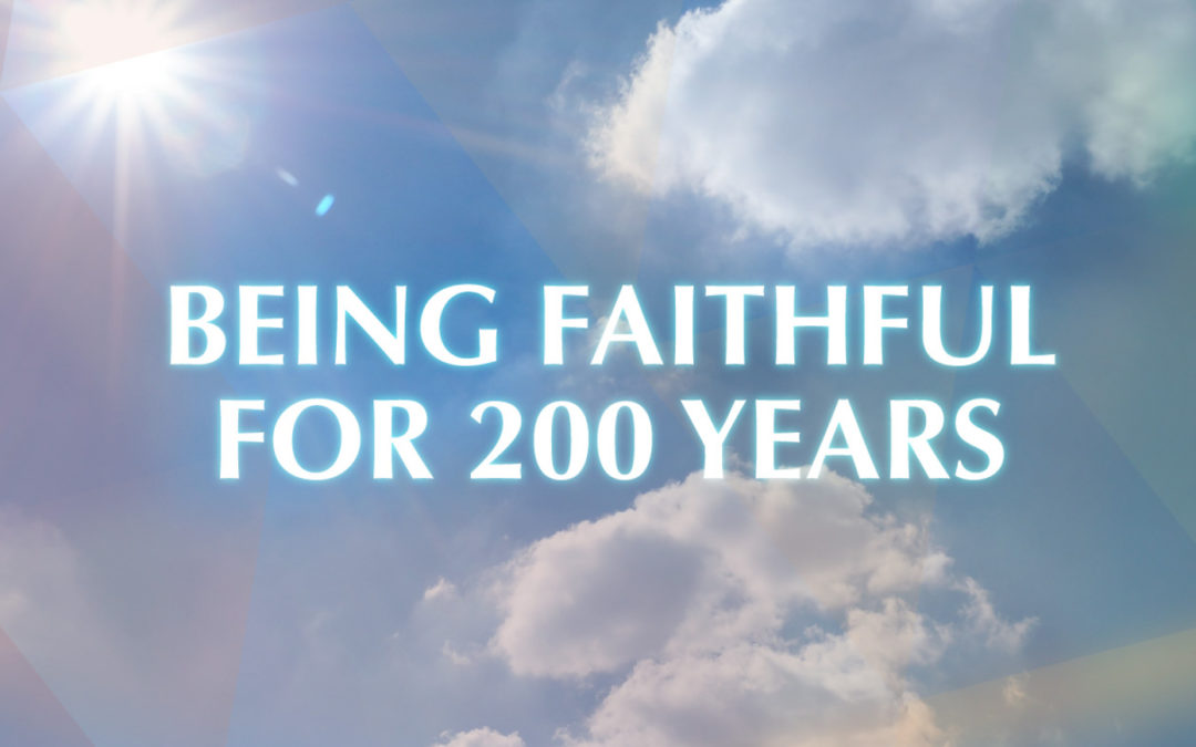 Being Faithful for 200 years – FCJ Bicentenary